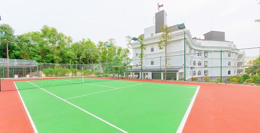 Sơn sân tennis và cung cấp thiết bị đèn chiếu sáng Cà Mau_T4.2019