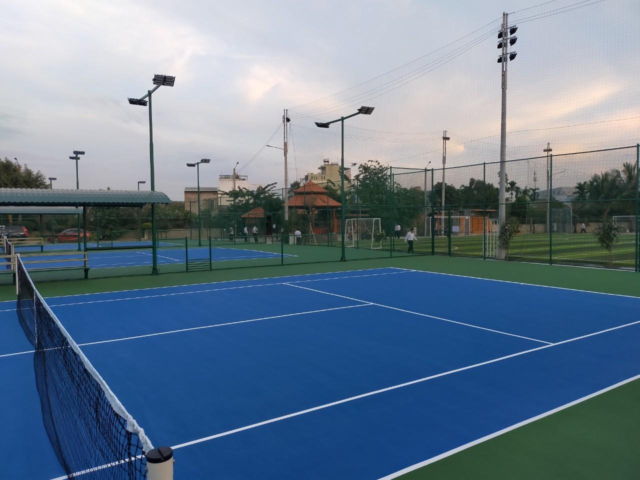 Khu thể thao Cây Lộc Vừng 526 Phạm Văn Đồng, TP Thủ Đức , TPHCM – Tháng 12/2020